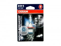 Галогеновая лампа Osram H11 64211NBU Night Breaker Unlimited 3600K